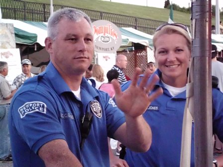 Police Officers at Italianfest 2013