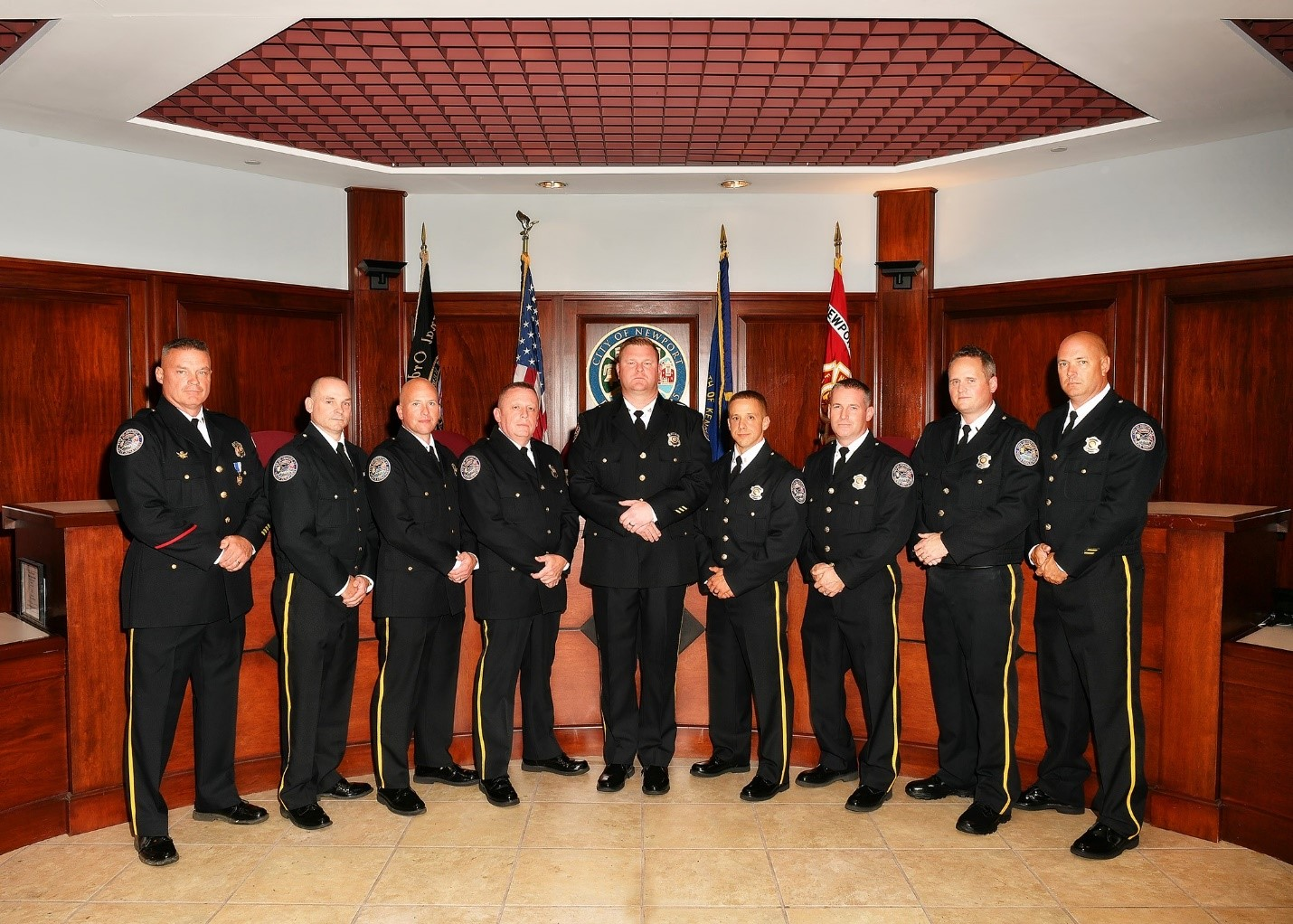 NPD Command Staff