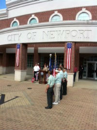 Newport City Building 998 Monmouth Street, Memorial Day 2013